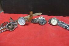 Lot of 4 Wrist Watches Dorset, Q & Q, Brighton and C