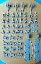 Near 2 sets of Airfix 1/72 Waterloo British Artillery Napoleonic figures set S46