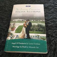 MILLS BOON, THE ITALIAN COLLECTION, ITALIAN ILLUSIONS. 9780733577239. 2 BOOKS
