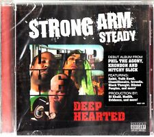 STRONG ARM STEADY- Deep Hearted CD (2007 Hip Hop) Mitchy Slick Phil Da Agony