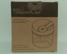 Pampered Chef Manual Food Processor 2581 New In Package