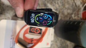 Huawei Band 6 Smart Health Watch. NEW. Black. Free extras!