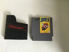 Super Mario 3 NES 3 Screw with Case - Excellent Cond.