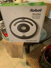 NEW iRobot Roomba 670 Robot Vacuum-Wi-Fi Connectivity, Works with Google Home