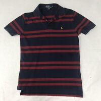 🌴Polo Ralph Lauren Men's M Multicolor Striped Short Sleeve Collared Shirt🌴