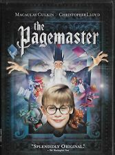 Pagemaster MACAULAY CULKIN USED VERY GOO DVD