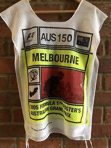 Formula 1 F1 Melbourne Fosters 2005 Australian Grand Prix Tabard Collectors