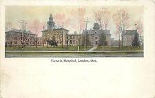 Vintage Postcard Victoria Hospital London Ontario Canada