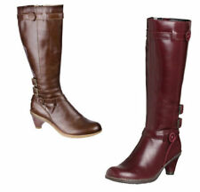 Mid Heel (1.5-3 in.) Kitten 100% Leather Boots for Women