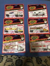 """LOT Road Champs - Tractor Trailer, Die Cast 1994 kenworth toy 7"""" long"""