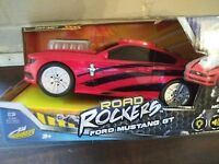Ford Mustang GT Road Rockers Kid Galaxy w Lights Sounds Red & Black Age 3+