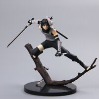 Uchiha Itachi 19cm Action Figure Na ruto Shippūden Ninja PVC Battle Model In Box