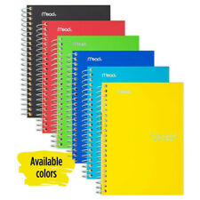 """2 Five Star Spiral Notebook, 1 Subject, College Ruled Paper, 100 Sheets, 7"""" x 5"""""""
