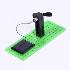 Mini Solar Powered Assembling Fan Educational Gadget Kids Children Gift Toy Hot