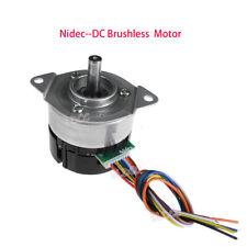 Nidec 24h404h Bldc 12v24v Dc Inner Rotor Brushless Motor Pwm Dual Channel Motor