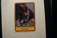 JERRY PATE AUTOGRAPHED CARD PGA TOUR