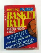 NBA Fleer Update Series 1991/92 Pack - Basketball Cards