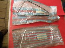 NOS 73-77 Oldsmobile Cutlass Buick Regal L&R Opera Glass Trim 9695382 & 9695283