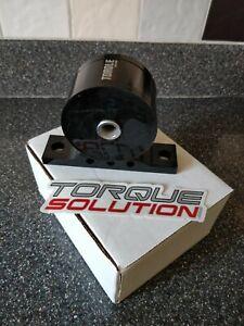 Torque solution billet front engine mount. Mitsubishi evo 7 8 9. TS-EV-002