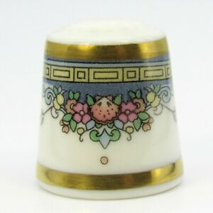 COLLECTABLE FINE CHINA THIMBLE ALBANY BY ROYAL DOULTON