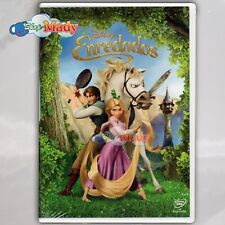 Disney Enredados DVD (Tangled) Región 1 Y 4 Español Latino