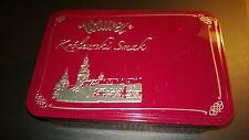 """Wawel """"ROYAL TASTE"""" Waffel Tin Box  Made in POLAND"""