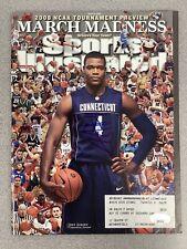 Jeff Adrien Signed Sports Illustrated Mag Basketball UCONN Autograph JSA 3/24/08