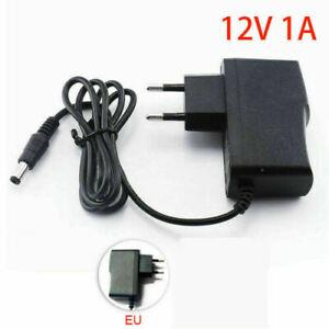 Universal AC/DC 12V 1A Netzteil Ladegerät Stecker Adapter EU Plug Netzadapter u