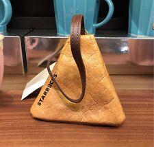 New China 2018 Starbucks Limited Edition Zongzi Small Purse Wallet Triangle Bag