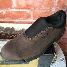 Vintage New FootJoy Contour Series 54066 Men's Sz 10.5 Leather Golf Shoes