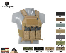 EMERSONGEAR extra low Profile CQB Plate Carrier Lite Airsoft Army Codura 500D
