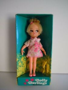 """Scarce 1967 Hasbro Dolly Darlings """"Dreamy""""  # 8535 Mint With Box Hard To Find!!!"""