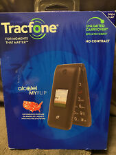 New listing New Tracfone Alcatel My Flip MyFlip A405 Prepaid Basic Cell Phone Tfala405Dcp