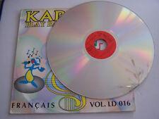 LASERDISC KARAOKÉ  PLAY BACK , FRANCAIS VOL LD 016 . 22 CHANSONS . PAL , NTSC .