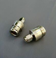 (5 PCS) SMA Male to N Female Straight RF Adapter - USA Seller