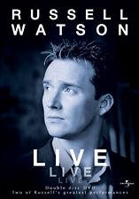 DVD:RUSSELL WATSON - LIVE - NEW Region 2 UK