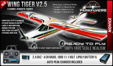 New Wing Tiger V2.5 EPO 500 Class Ready To Fly RC Airplane 4 Channel Trainer