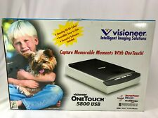Visioneer One Touch 7300 Flatbed USB Scanner Great Price!