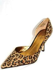 New Authentic Classic Pumps By Anne Klein Christa Brown Multi Leather Upper 9.5