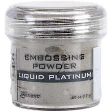 Ranger Embossing Powder, 0.6-Ounce Jar, Liquid Platinum Epj-37484