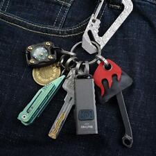 MecArmy Ch7 Titanium Keyring Kit, 7pcs Keyring for Keys and Other Edc Gears
