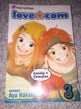 Love Com Aya Nakahara Lot of 2 Paperbacks Volume 2 3 Manga