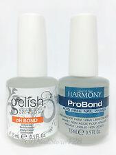 Harmony Gelish- pH Bond DEHYDRATOR (Prep)+ PRO Bond Acid Free Primer .5oz/15ml