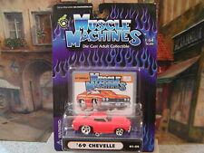 MUSCLE MACHINES 1966 PONTIAC GTO 1:64 DIE-CAST #71151
