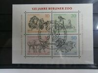 Berlin - 125 Jahre Berliner Zoo - Block 2 1969 - mit ETSST