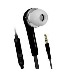 Black 3.5mm Headphones Headset Earphones Earbuds Gym For Motorola LG Samsung