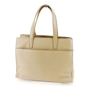 Loewe Tote bag Monogram Mini Agenda Grey Gold Woman unisex Authentic Used T2025