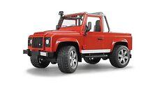 Bruder Land Rover Defender Pick-Up-New Factory Sealed-02591