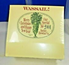 Wassail Special Ale Advertising Bar Table Top Tent Merry Christmas 2001