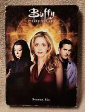 BUFFY THE VAMPIRE SLAYER Season Six 6-DVD Set 2006 English Spanish French GUC
